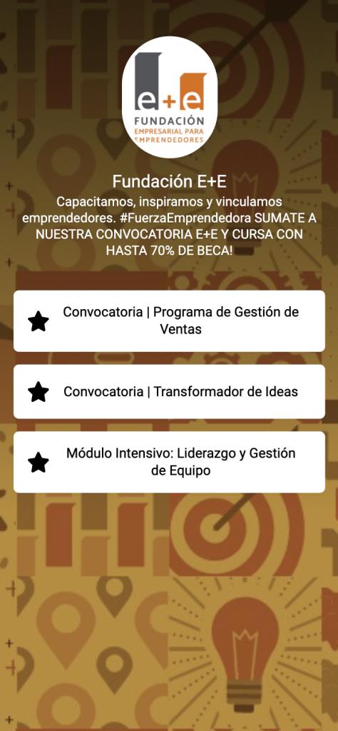 Ejemplo LinkTab Organizaciones