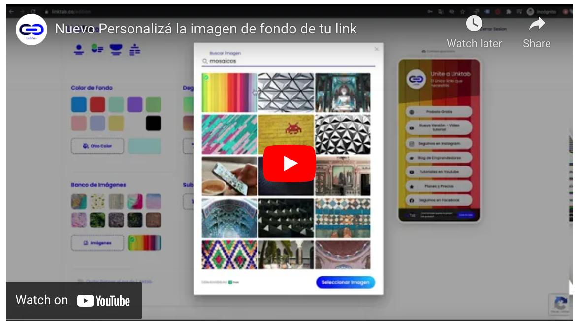 Video LinkTab