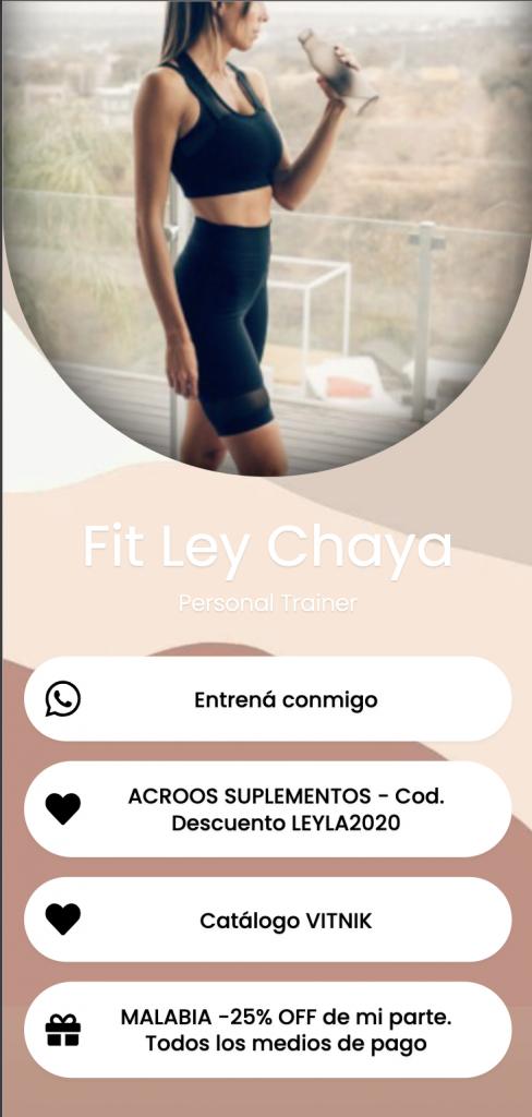 Ejemplo LinkTab Vertical Fitness